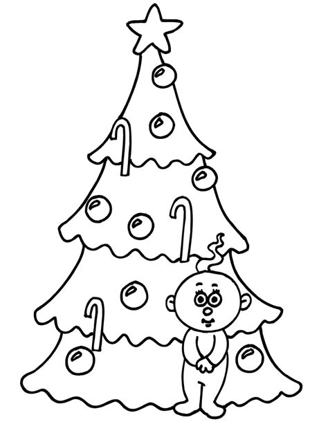 new christmas tree coloring pages picture of a small christmas tree to color new calendar