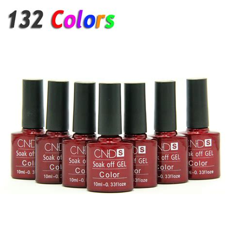 Cheap Uv L For Gel Nails by Nail Gel Uv Led Shining Colorful 132 Colors10ml