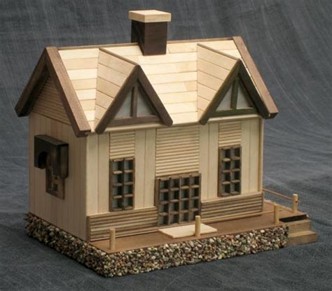 Popsicle Stick House Plans House Diy Family