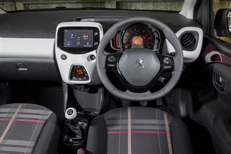 peugeot car interior image gallery peugeot 107 2015 interior
