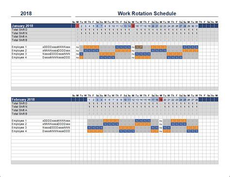 shift pattern template tutoreorg