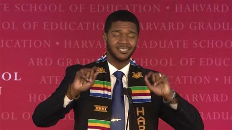 South Harvard Mba Graduates by Donovan Livingston S Harvard Graduate School Of Education