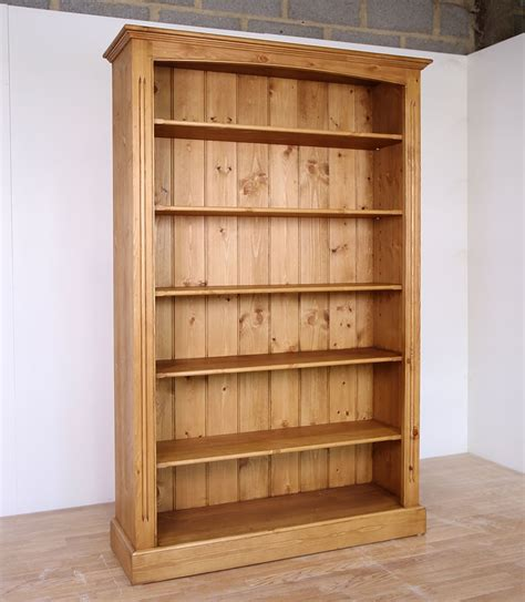 solid pine open bookcase in 5 widths furniture4yourhome