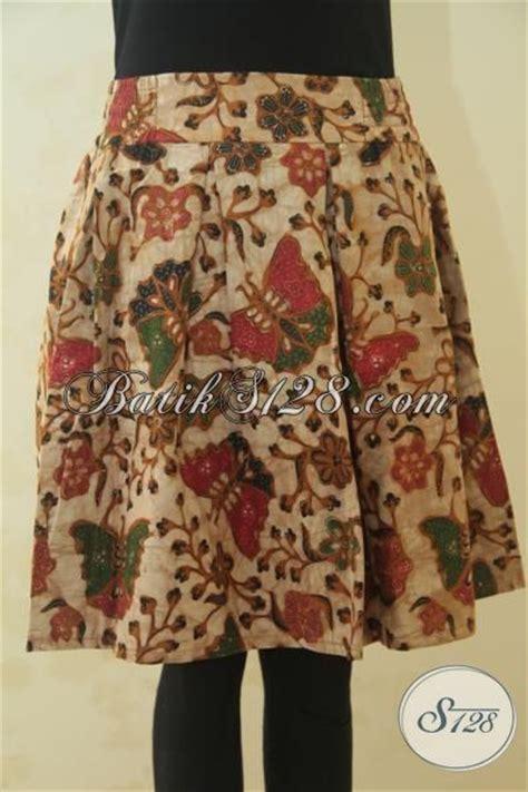 Rok Batik Pendek Klok Kuning Bawahan Batik Katun Embos B31115052kng rok batik motif kupu kupu lucu model baju batik modern 2018