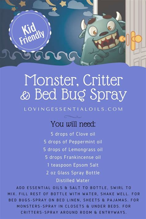 essential oil bug spray ideas  pinterest natural bug repellant insect repellent