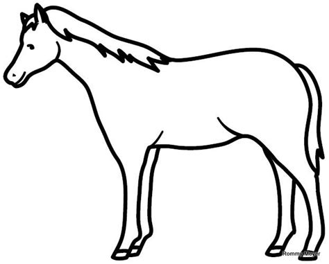 dibujos para colorear de caballos caballo wchaverri s blog