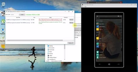 install apk android apks to windows 10 mobile services patch