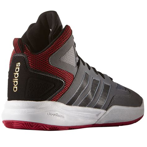 adidas s cloudfoam thunder mid basketball shoes bob s stores
