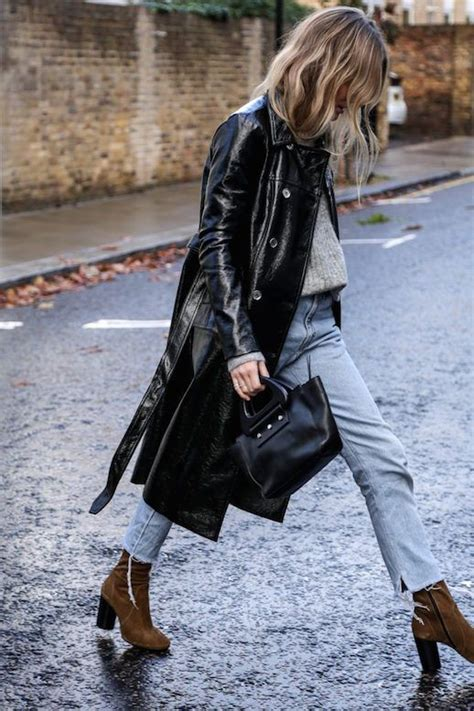In Style Now Speaks by 15 Best Ideas About Patent Trench Coats On
