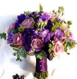Purple wedding bouquets picture png