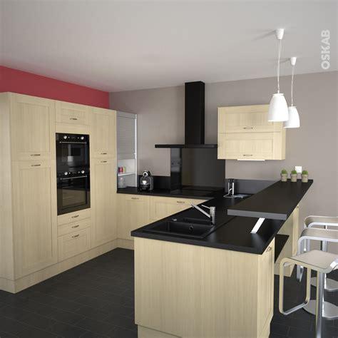 Renovation Plan De Travail Cuisine Carrelé 2321 by Cuisine En Bois Verni Ouverte Sur La Pi 232 Ce 224 Vivre