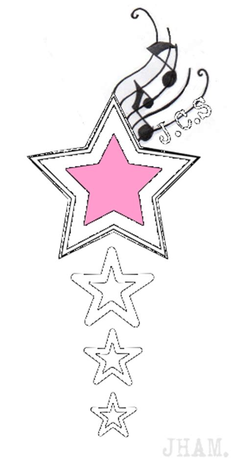 music tattoo png stars music notes tattoo designs picture to pin on