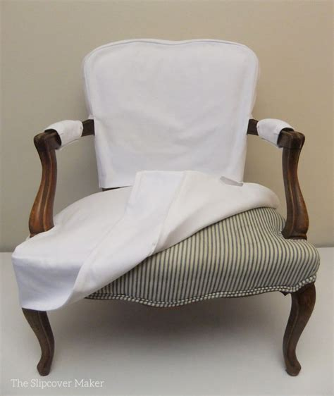 Slip Cover For Chair by Simple White Denim Slipcover For Chair The