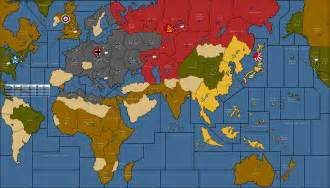 Ww2 World Map by World War Ii Revised Axis Amp Allies Wiki Fandom Powered