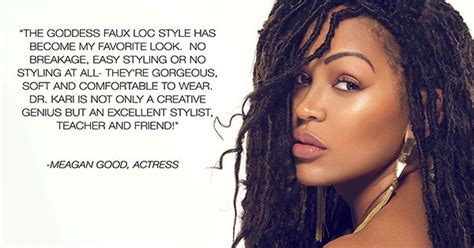 meagan good for goddess faux locs caign bellanaija january2016 watch how to get meagan good s goddess faux locs