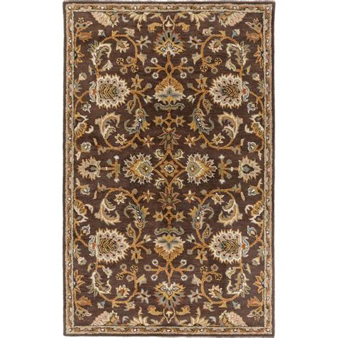 artistic rug artistic weavers middleton mallie light brown 9 ft x 13 ft indoor area rug awmd1002 913 the