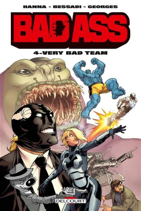 bd bad bad t4 bad team 0 comics chez delcourt de
