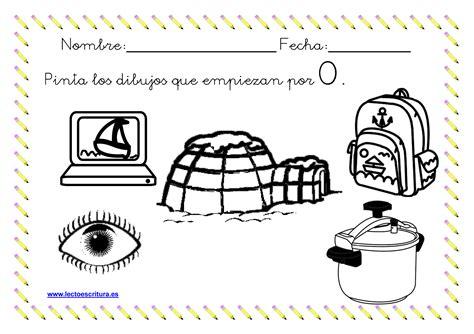 imagenes para colorear que inicien con la letra t www lectoescritura es ficha colorear dibujos que empiezan