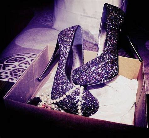 high heels sparkly high heels images beautiful purple glitter heels o