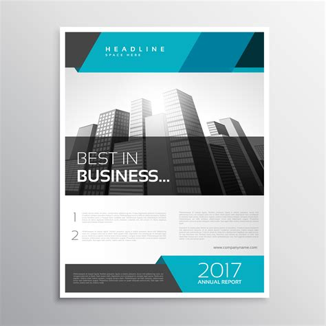 Modern Business Flyer Brochure Cover Template Download Free Vector Art Stock Graphics Images Will Cover Template