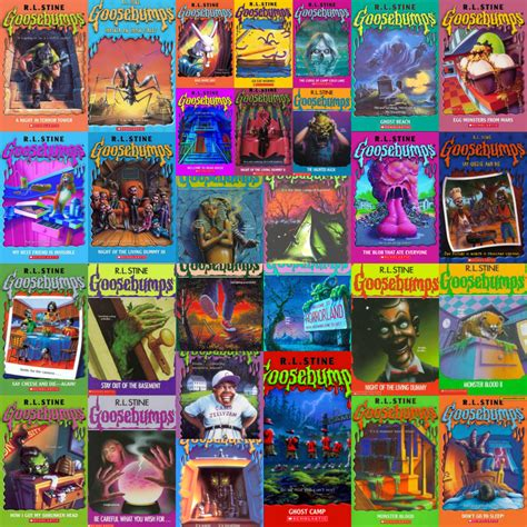goosebumps books list with pictures repeating my bookish childhood read sleep repeat