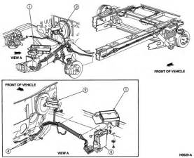 Brake Line Diagram For 1998 Ford F150 I Need A Brake Line Diagram For A 95 Windstar
