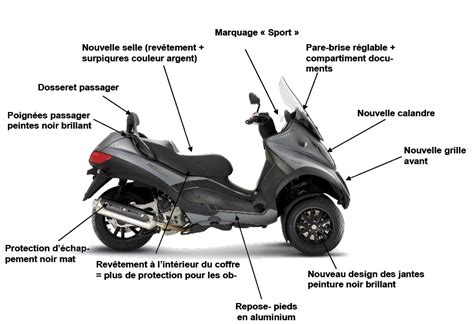 piaggio mp3 sport lt 500 photos and comments www