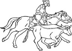 cowboy coloring pages kids coloring pages