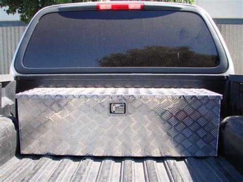 truck bed lock box aluminum tool box tote storage for truck pickup bed