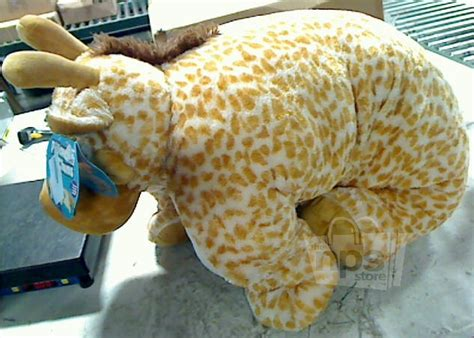 Kellytoy Pillow Chums by Kellytoy 912482 Pillow Chum Jerry The Giraffe Jumbo 41 Quot X30