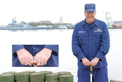 coast guard tattoo policy traditions in service