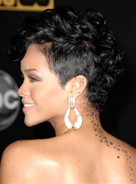 rihanna images of front and back short hair styles rihanna hairstyles short front and back