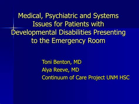 ppt psychiatric and systems issues for patients
