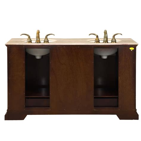 bathroom vanities 60 silkroad exclusive traditional 60 double sink bathroom
