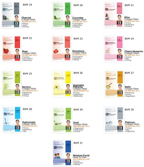 Masker Dermal one stop supply dermal korea collagen essence masks special price