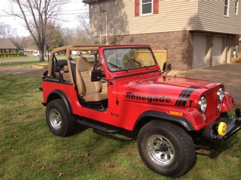 classic jeep renegade renegade cj 7 fully restored classic jeep cj 1977 for sale
