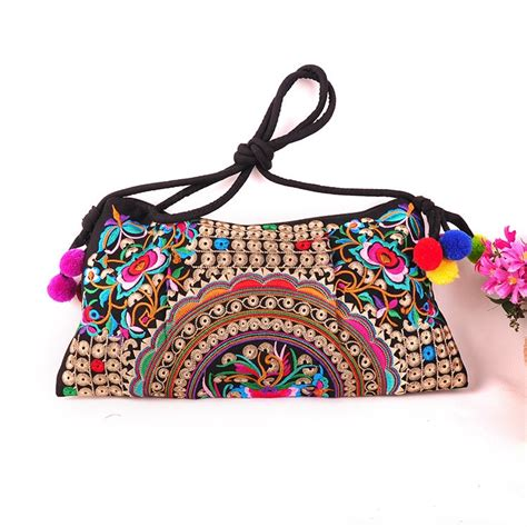 embroidery bag embroidery bag national trend new embroidered floral