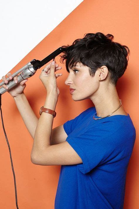pixie curly hair drying method 2214 best cool short hair images on pinterest