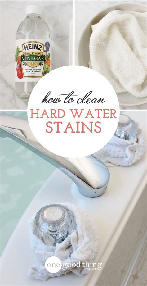 how to clean tough stains in bathtub 25 best ideas about hard water cleaner on pinterest