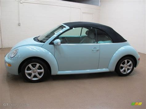 aquarius blue 2004 volkswagen new beetle gls convertible