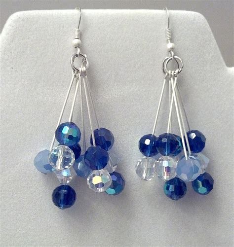 Bead Dangle Earrings dangle bead earrings by hharleman on deviantart