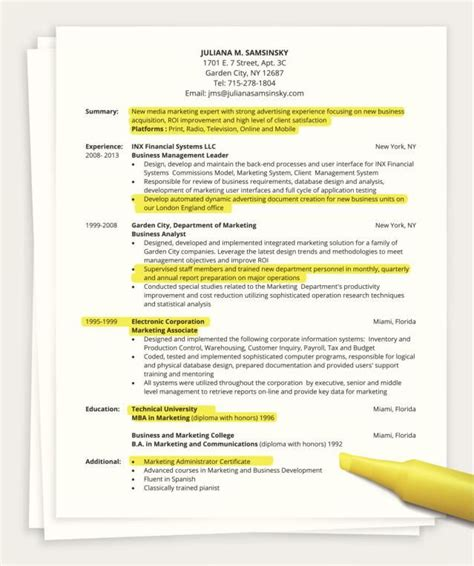 .how to write a qualifications summary resume genius