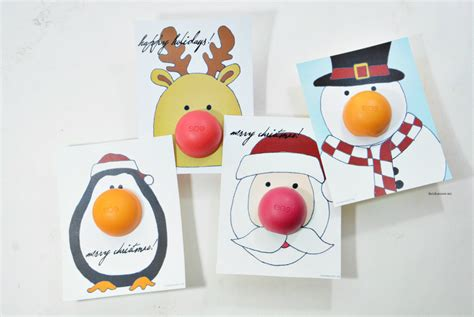 eos reindeer card free template eos gift the idea room