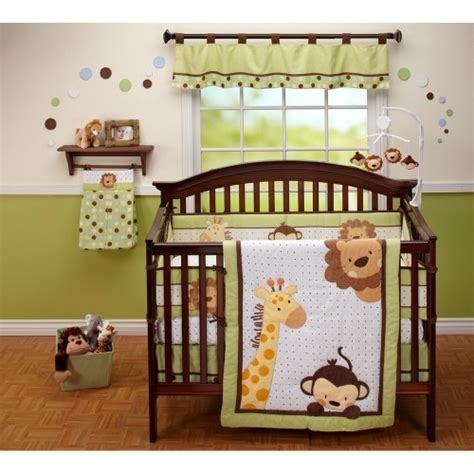 Gorgeous Themes For Your Baby Boy S Bedding Nursery Jungle Themed Nursery Bedding Sets