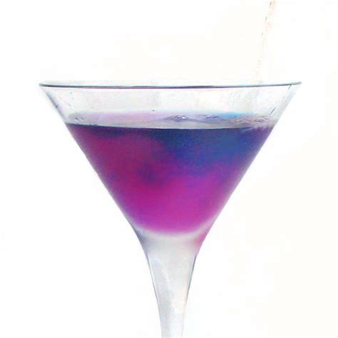 purple cocktail color changing cocktails 3 steps with pictures
