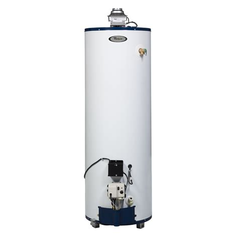 Gas Water Heater Blue Gas shop whirlpool 40 gallon 6 year residential