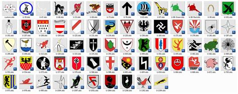 u boat conning tower emblems rel a fistful of emblems subsim 174 radio room forums