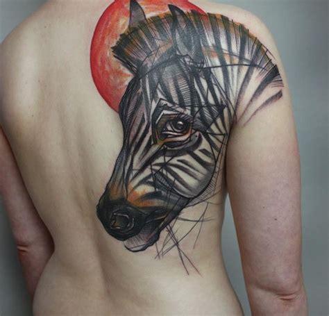 zebra tattoo ink great zebra pictures tattooimages biz