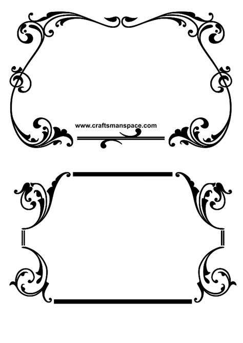 svg pattern border line border vector cliparts co