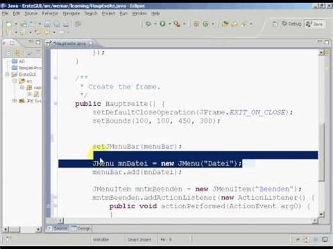swing java eclipse 11 tutorial swing en java con eclipse con windowbuilder